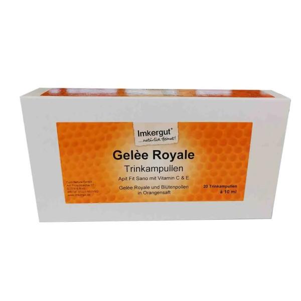 Gelèe Royale Trinkampullen (Api Fit Sano ohne Alkohol)