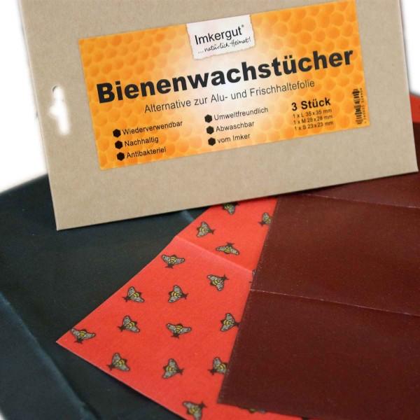 Bienenwachstücher Set (S/M/L)