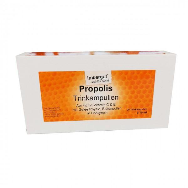 Propolis Trinkampullen (Api Fit mit Alkohol) 20 x 10ml