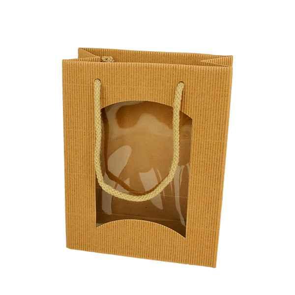 Geschenkverpackung für 2 Honiggläser natur