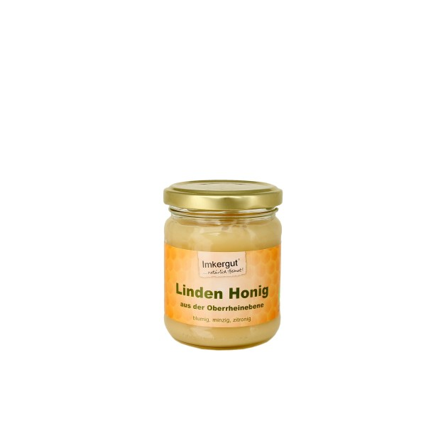 Lindenhonig 250 g Glas