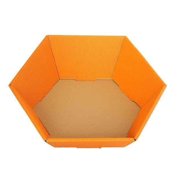 Präsentkorb klein orange