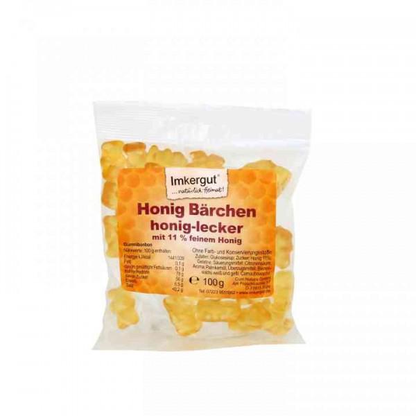 Honig Bärchen 100 g Beutel