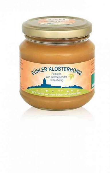 Bühler Klosterhonig 250 g Glas
