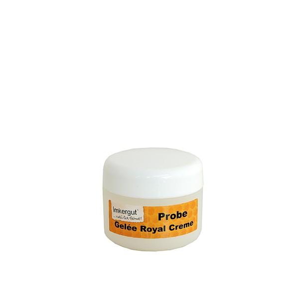 Gelée Royale Honig Creme im 5 ml Tiegel Probegröße